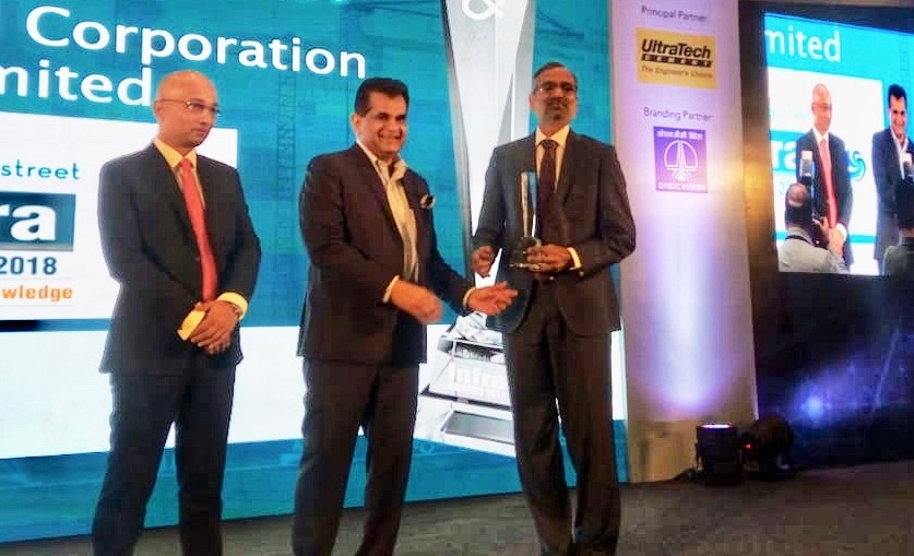 POWERGRID Conferred with Dun and Bradstreet Infra Award-2018