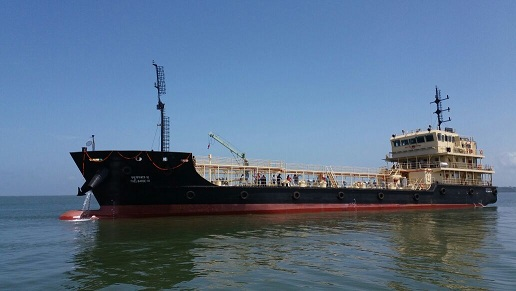 GSL DELIVERS SECOND 1000T FUEL BARGE AHEAD OF SCHEDULE TO INDIAN NAVY