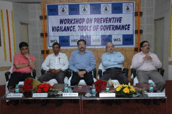 WCL organizes  Workshop on Preventive Vigilance, Tools of Governance .