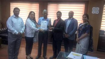 CMD NBCC  Conferred  Pride of India Award  from IES