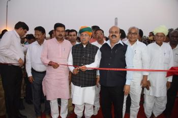 Union Minister Shri Arjun Ram Meghwal dedicates the road