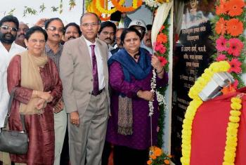 Union steel secretary Aruna Sharma inaugurates solar plant in Visakhapatnam