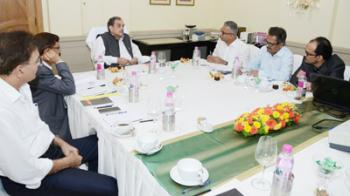 Steel Minister takes SAIL western region review meeting