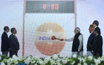 Prime Minister Inaugurates India International Exchange