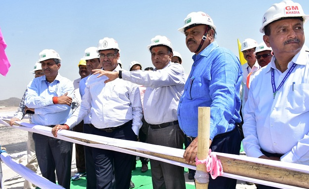 Chairman CIL Visited to NCL