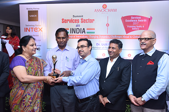 NRDC Received ASSOCHAM Services Excellence Awards 2017
