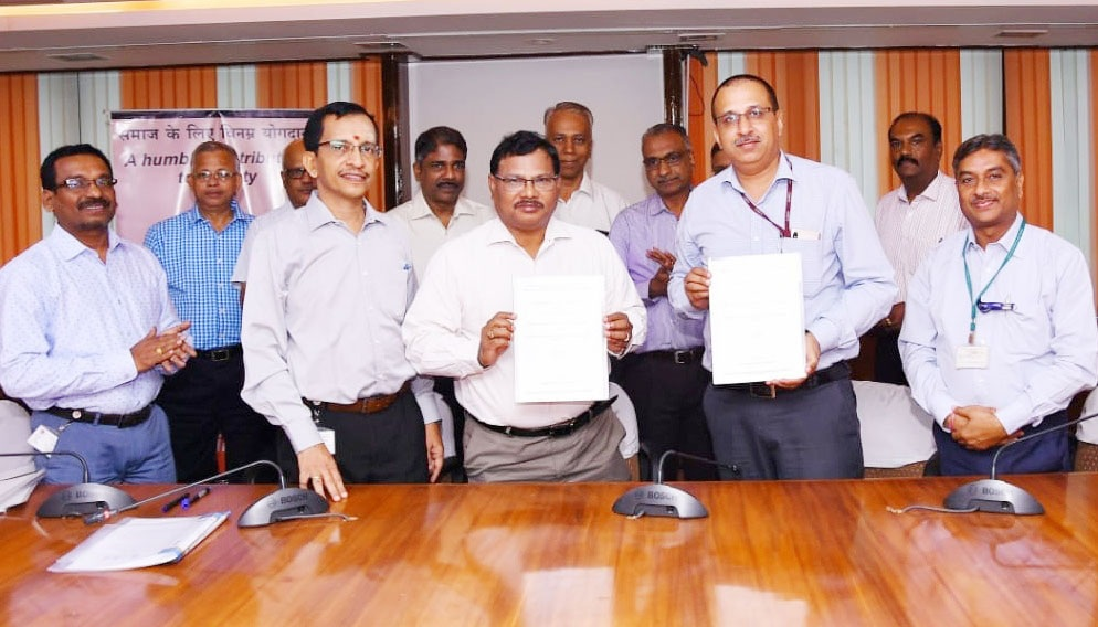 ALIMCO signed MoU with Tamil Nadu State Office of IOCL