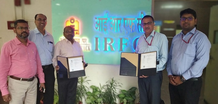 IRFC Signs an MoU with ALIMCO to Distribute Assistive Devices to Divyangjan