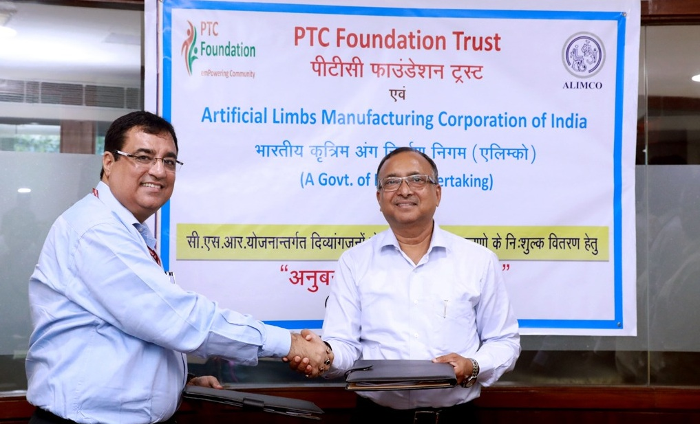 PTC Foundation and ALIMCO Signed an MoU