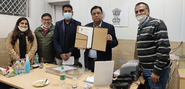 Aravali power and ALIMCO signed MoU for CSR project