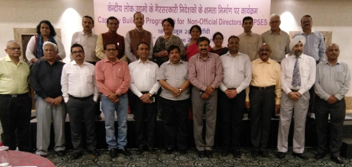 Capacity Building Programme for Non-Official Directors of CPSES Concludes
