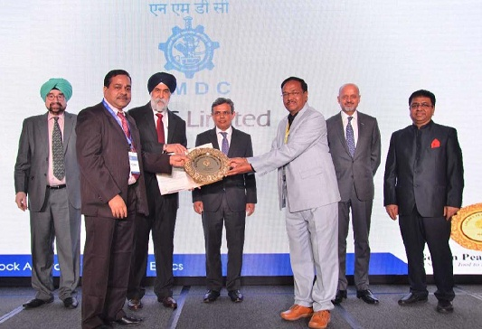 NMDC Ltd. wins the Golden Peacock Corporate Ethics Award