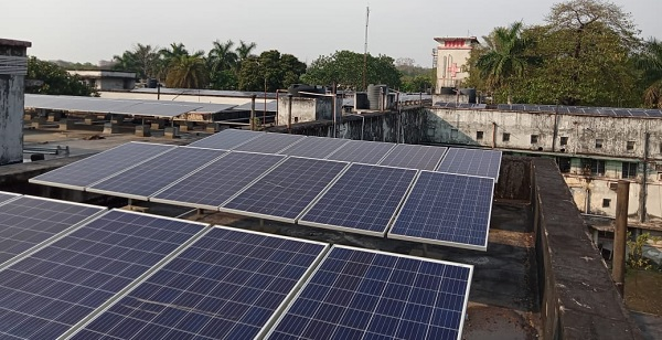 BCCL commissions 350KWp grid connected roof top solar power plant