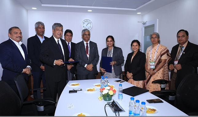 BEL Signed Teaming Agreement with Hughes India for Helicopter Satcom Solutions