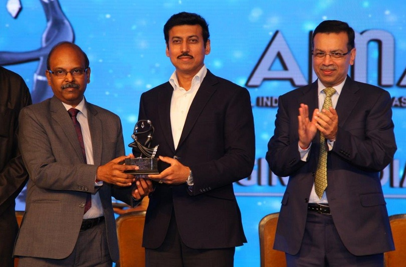 BEL Won AIMA Outstanding PSU of the Year Award