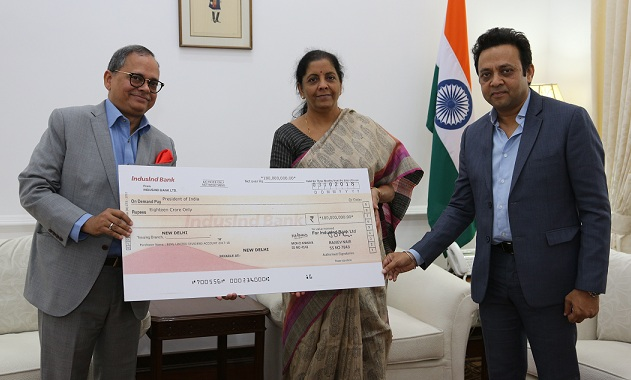 BEML Paid Annual Dividend to the Defence Minister