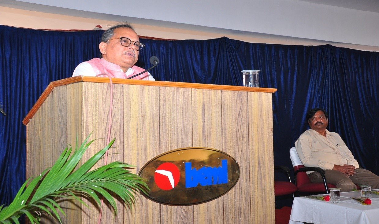 BEML Celebrates 54th Foundation Day