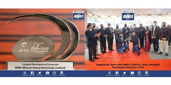 BHEL won award for Largest Participating Corporate