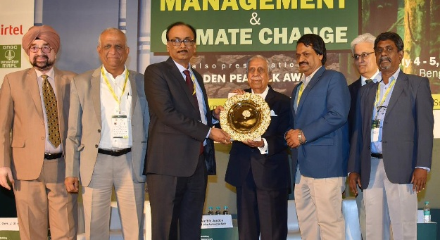 BHEL won Golden Peacock Environment Management Award