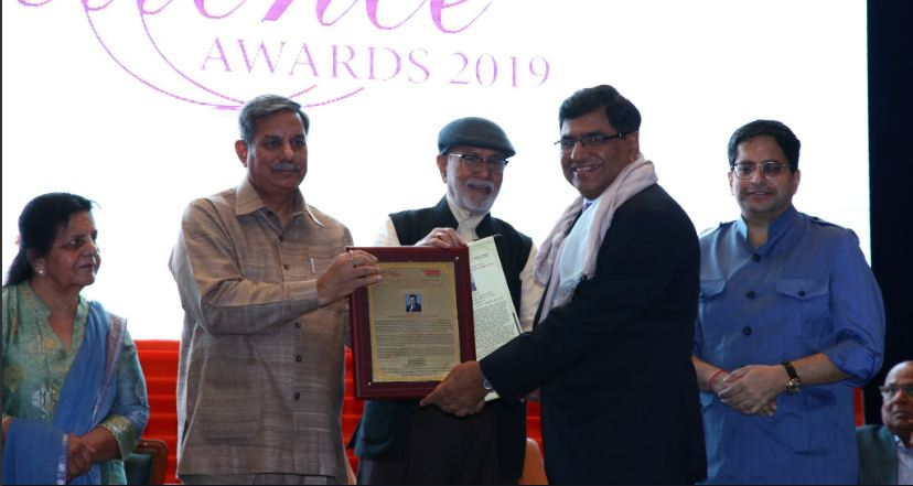 CMD BHEL Awarded with Manav Rachna Excellence Award 2019