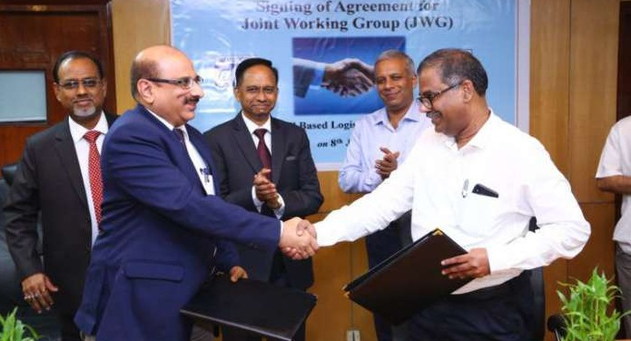 BHEL Signs an MoU with CONCOR to jointly set up Rail-based Logistics Facility