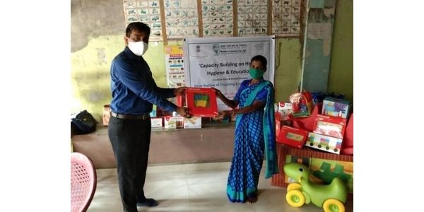 Balmer Lawrie distributed SESAME kits in its CSR activity