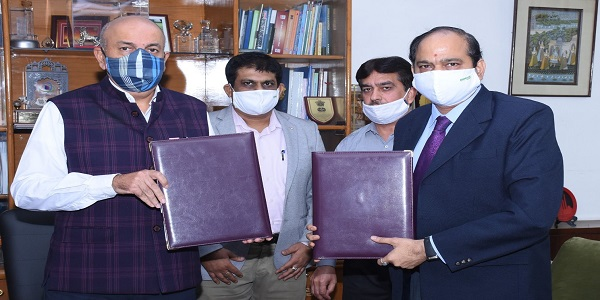 Balmer Lawrie signed the MoU with Ministry of Petroleum and Natural Gas