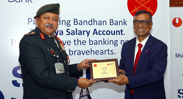 Bandhan Bank signed MoU with Indian Army