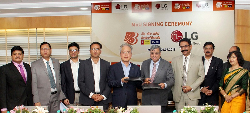 Bank of Baroda Signs MoU with LG Electronics India Pvt. Ltd.