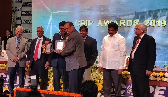 POWERGRID Received two Awards at CBIP Awards 2019