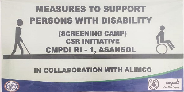 CMPDI will bear expenses of 41 persons with Disabilities in providing Assistive devices
