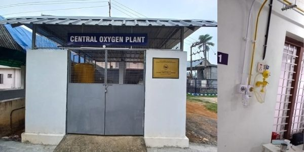 CSL helped Kerala govt hospitals in setting up Centralised Oxygen Distribution Facilities