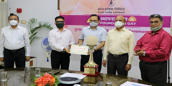 MCL bagged 5 Coal India award including CSR and Quality