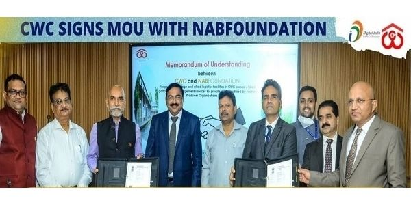 CWC signs MOU with NABFoundation to boost scientific post harvest management services