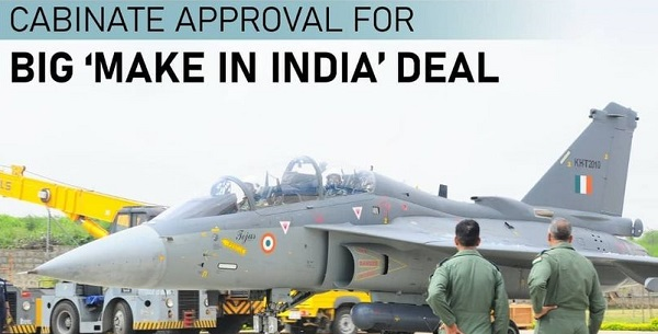 Cabinet approved 83 LCA Tejas for IAF