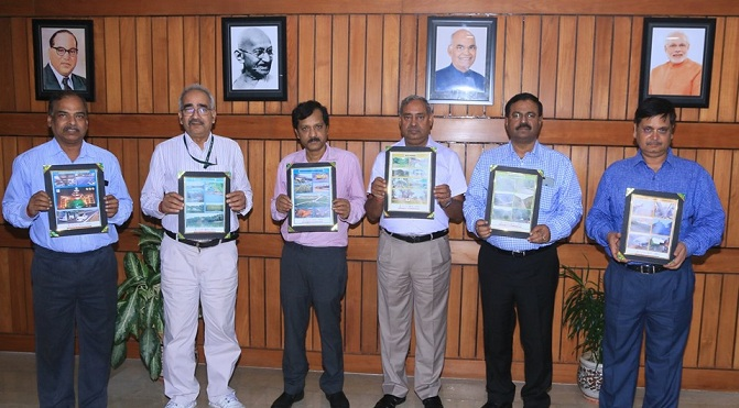 Coal India Chairman Released World Environment Day 2019 Posters