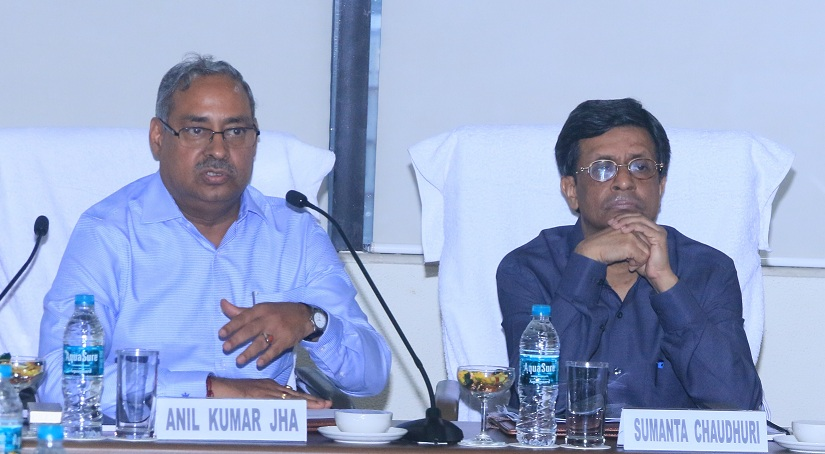 Secretary Coal Chairs Review Meeting at CIL