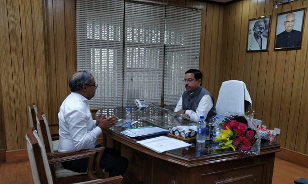 Chairman CIL Meets Coal Minister of India