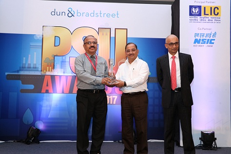 BEL wins D and B Top PSU Award 2017