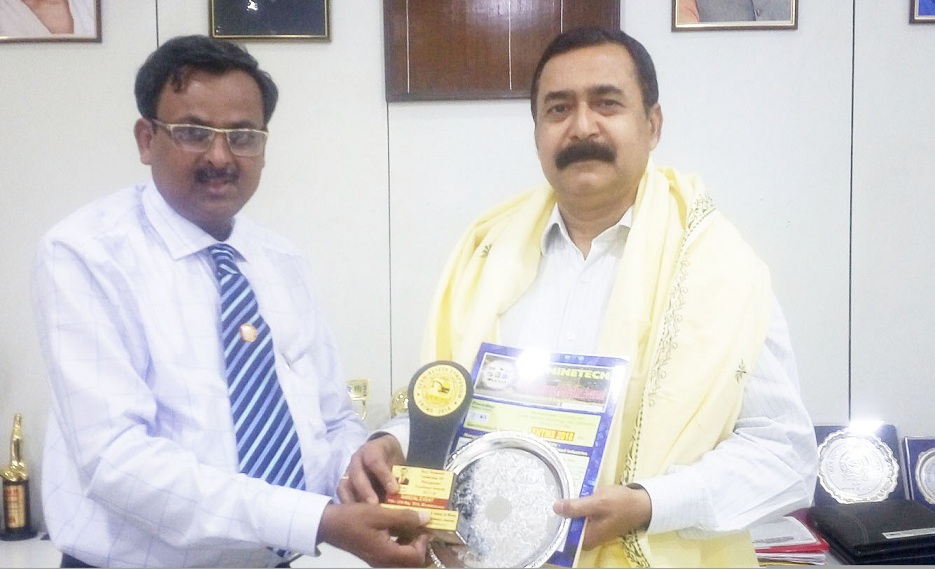 Mr. L N Mishra Awarded with Best Corporate Leadership HR Management Excellence Award