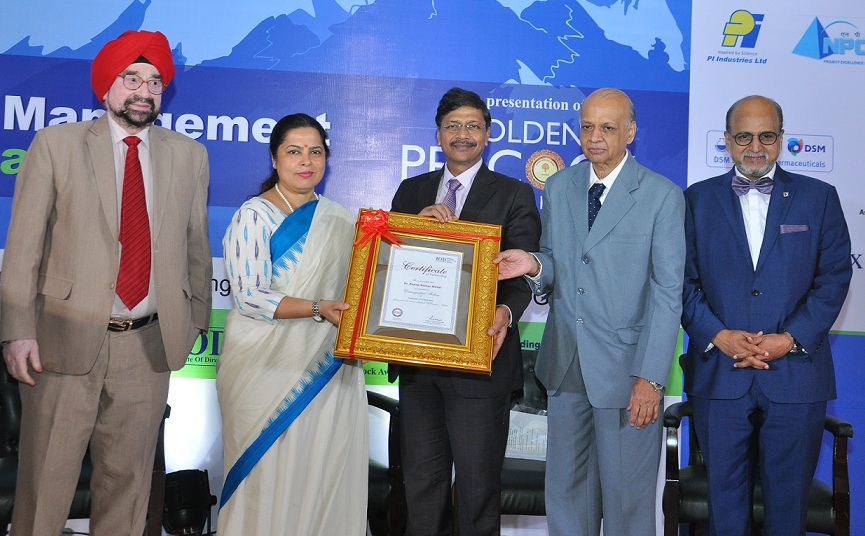 CMD NBCC Awarded with Distinguished Fellowship