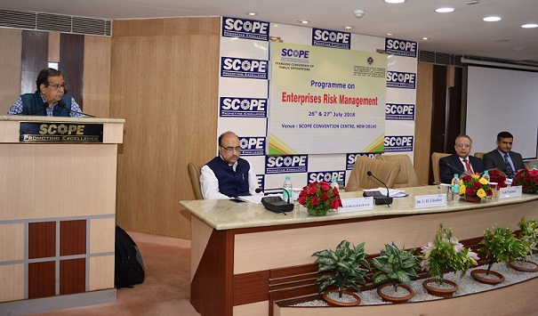 SCOPE Organized Programme for better Risk Management in PSEs