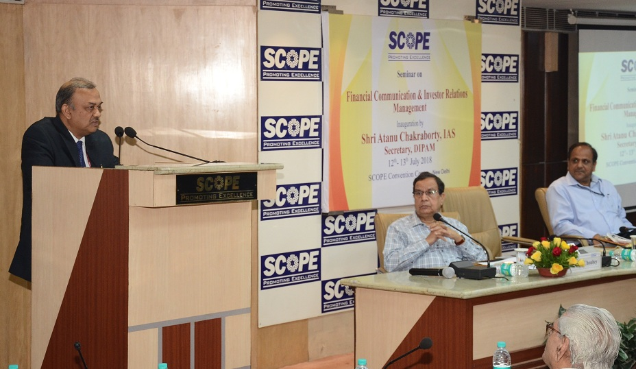 SCOPEs Programme on Better Investor Relation Strategy in PSEs
