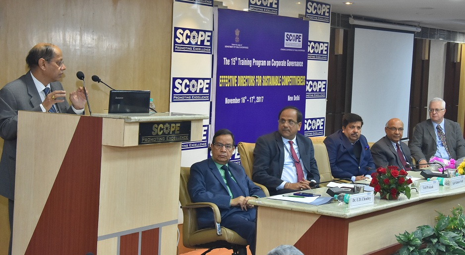 SCOPE for Effective Corporate Governance in Public Sector