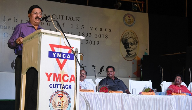 25th Year Celebration of YMCA Cuttack and Birth Anniversary of Utkal Gourav Madhusudan at NALCO