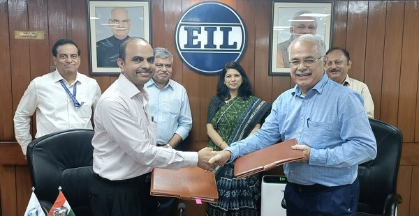 EIL signs agreement with Evergreen Technologies Private Limited
