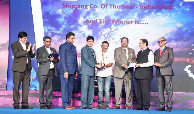 SCI Awarded Shipping Company of the Year