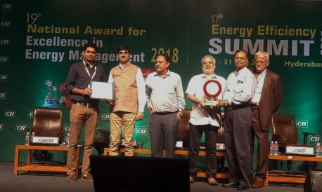 RINL Bags Excellent Energy Efficient Award