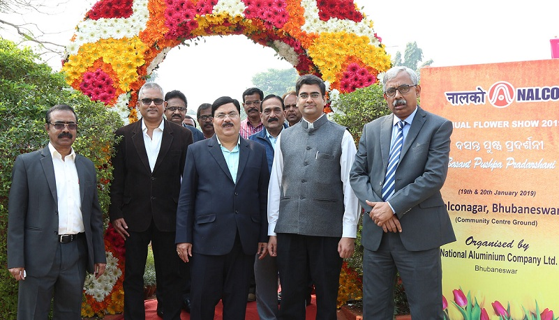 Flower Show Inaugurated at NALCO