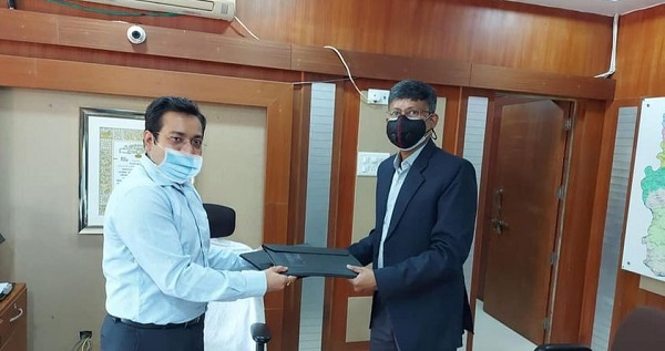 GRSE signed MoU with District Collector of Godchiroli
